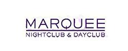 Marquee nightclub inside Cosmopolitan logo