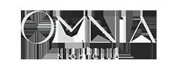 Omnia nightclub logo white